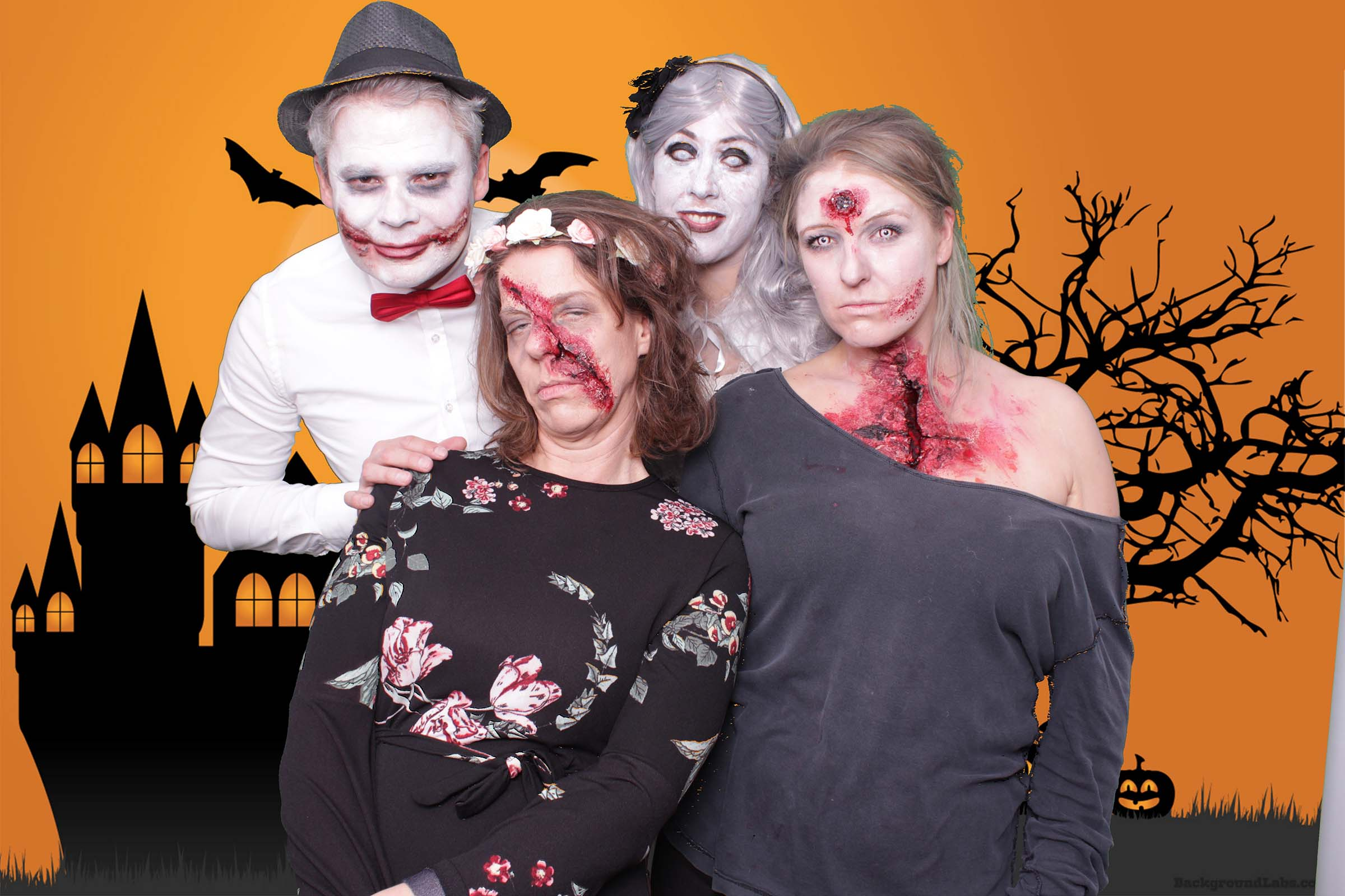 Halloweenparty mit Photobooth